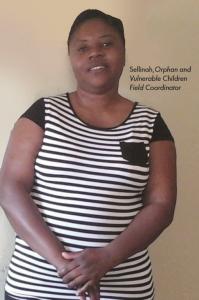 Sellinah, Orphan & Vulnerable Children Field Coordinator