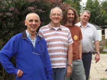 Dale Aitken, Barry Wilson, Matt Aitken, Richard Crofts.