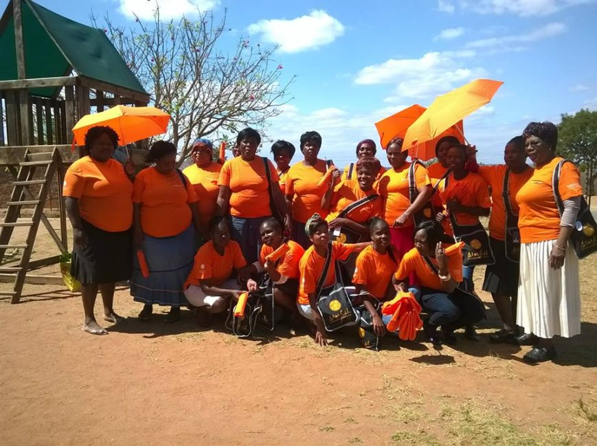 VOLUNTEERS IN ORANGE, 2014