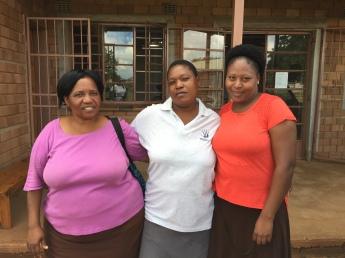 Mahushu team- Jolitha, Bongekile, Ntombifuthi