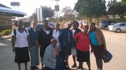 27. Phola team-Oblama, Jo, Msgdelene, Rose, Zelda, Olga, Lorraine, Again and Mamatjie