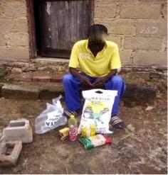 71. Patient food parcel delivery