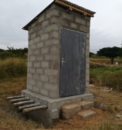 26. Toilet, completed