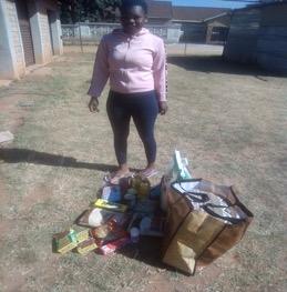 64.Princess, food parcel